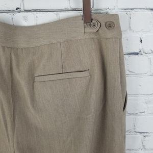 CHRISTOPHER & BANKS | straight leg workwear pant